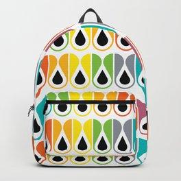Scandinavian Pattern 120 (colorful loops) Backpack