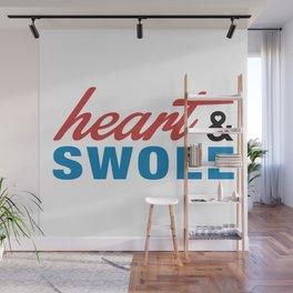 Heart & Swole Wall Mural
