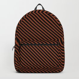 Potter's Clay and Black Stripe Backpack