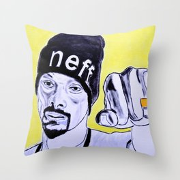 Snoop Dog Throw Pillow