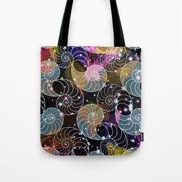 C13D Seashell Sparkle Tote Bag