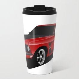 Mustang Boss Red Travel Mug