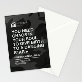 You need chaos Stationery Cards