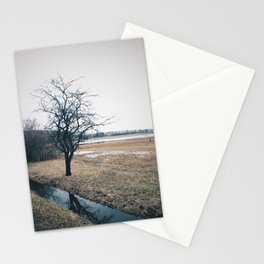 Tree On Moor Stationery Cards