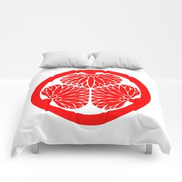Lone Wolf and Cub Crest Comforters