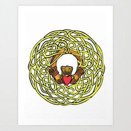 Love, Loyalty, Friendship Art Print