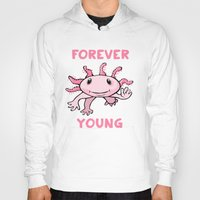forever young Hoodies featuring Forever Young by Janusz Kali Kaliszczak