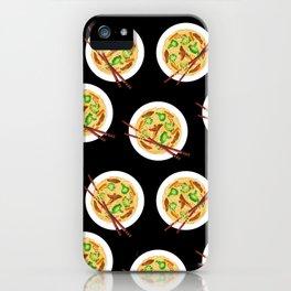 Lo mein decor // Lo mein noodles //  chow mein noodles // Chinese noodles iPhone Case