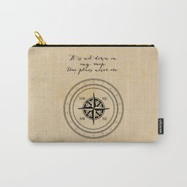 Moby Dick - Herman Melville - True Places Carry-All Pouch