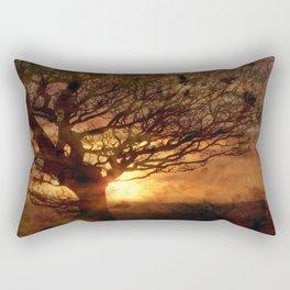 Sunset Over Beamish Rectangular Pillow