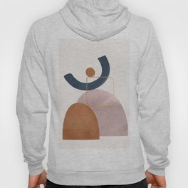 Minimal Abstract Shapes No.32 Hoody