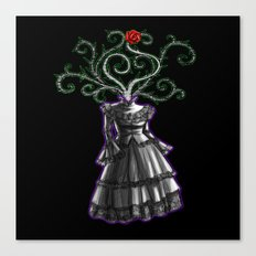 Gothic Dress Canvas Print