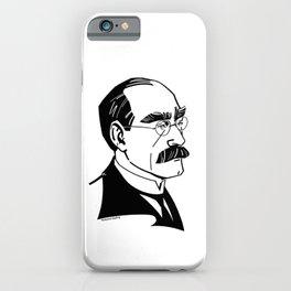 Rudyard Kipling iPhone Case