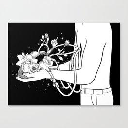 Show Me Your Heart Canvas Print