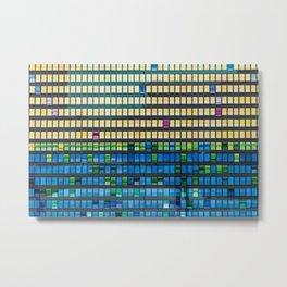Color Flips Metal Print
