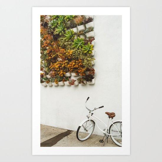 San Diego Sidewalk Art Print