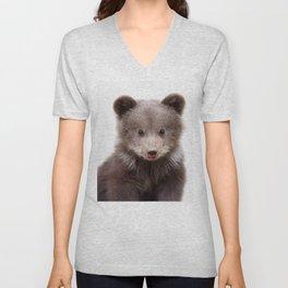 Baby Bear Cub Unisex V-Neck