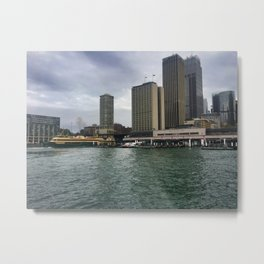 Sydney Ferry Terminals Metal Print
