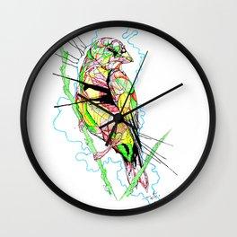 Abstract Bird 01 Wall Clock