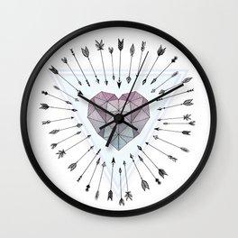 Young & Unafraid Wall Clock