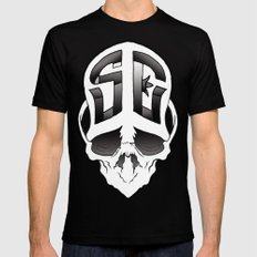 Soul Expressions logo MEDIUM Mens Fitted Tee Black