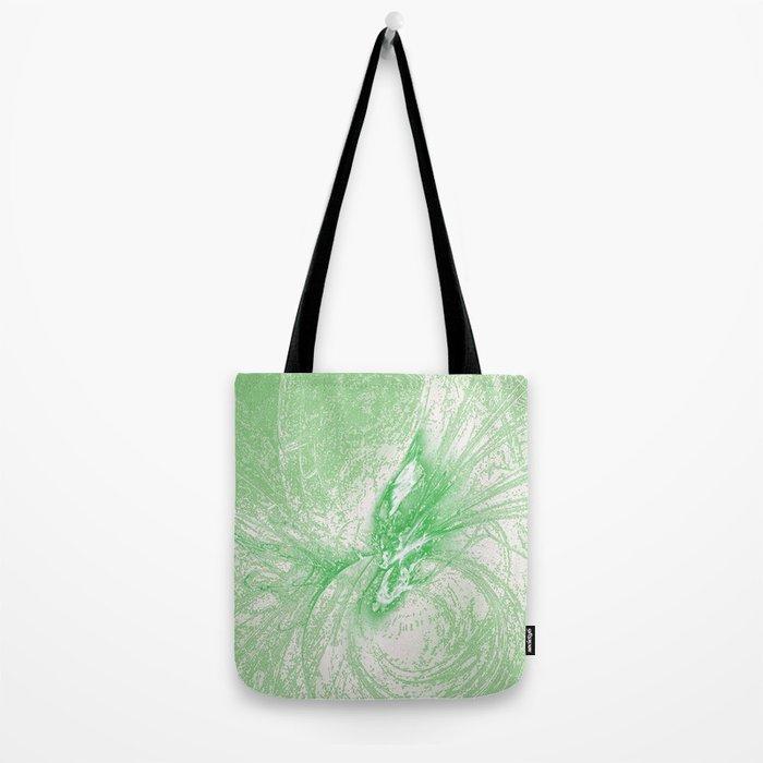 Splatter in Limeade  Tote Bag