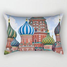 Domes Of St. Basil Rectangular Pillow