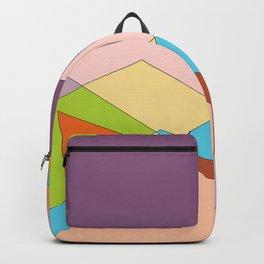 beach color stars towel Backpack