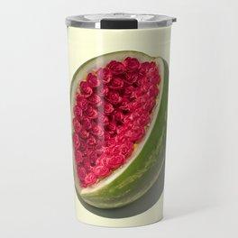 Watermelon Roses Travel Mug