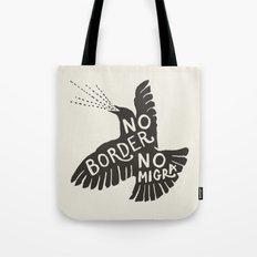 No Border No Migra Tote Bag