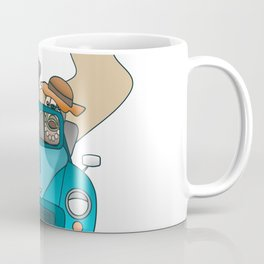 The  Best of British - English Bulldogs in a Morris Minor Coffee Mug