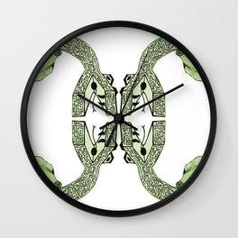 Purging Wall Clock