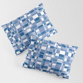 Mod Gingham - Blue Pillow Sham