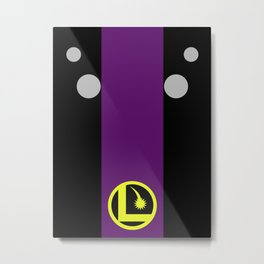 Minimalist Legion of Super-Heroes Poster - Cosmic Boy  Metal Print