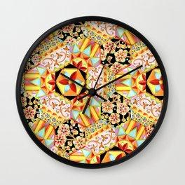 Gypsy Boho Chic Wall Clock