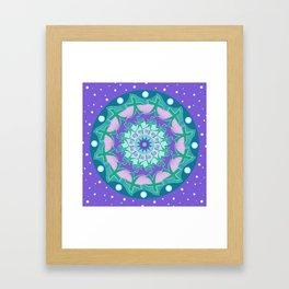 Soul Healing Mandala Framed Art Print
