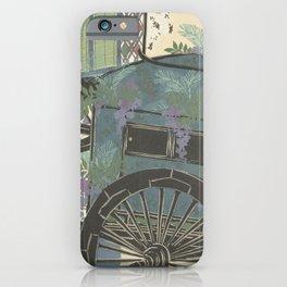 Kamisaka Sekka - Flowers of a Hundred Worlds - Wisteria (1909) iPhone Case