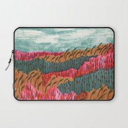 Quiet Place brush pen illustration by Amanda Laurel Atkins Laptop Sleeve