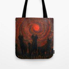 Hyena Sundown Tote Bag