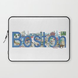 Boston - Cityscapes by Stephanie Hessler Laptop Sleeve