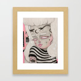 Teenage Ghoul Framed Art Print