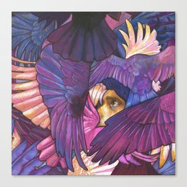 A Murder of Ravens Canvas Print