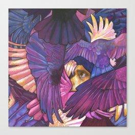 A Murder of Ravens Canvas Print