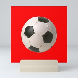 Soccerball Mini Art Print