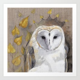 Crown of Wisdom Art Print