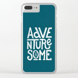 Adventuresome Clear iPhone Case
