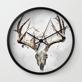 King of the Forrest - Trophy Buck - Deer Wall Clock