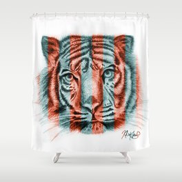 Prisoner Performer Shower Curtain