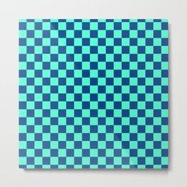 Checkered Pattern VI Metal Print