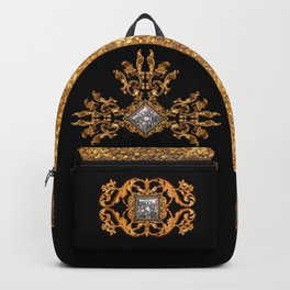 Versailles in Black and Gold Backpack